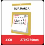 100 Folhinhas Comerciais Com Furo - 270x370mm
